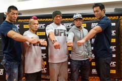 Riki Fukuda, Kid Yamamoto, Yoshihiro Akiyama, Michihiro Omigawa and Yushin Okami
