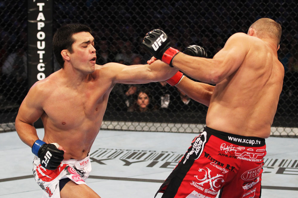 En UFC 129 Machida vs Couture