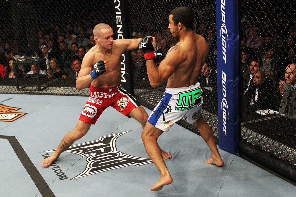 UFC featherweight Mark Hominick