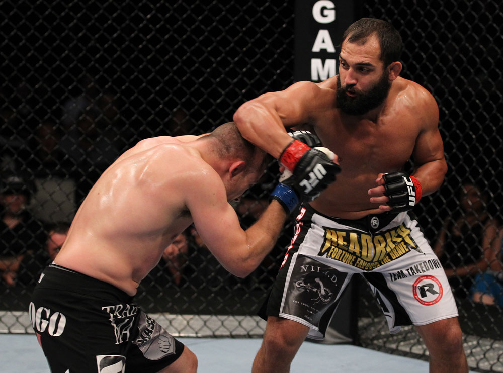 UFC welterweight Johny Hendricks