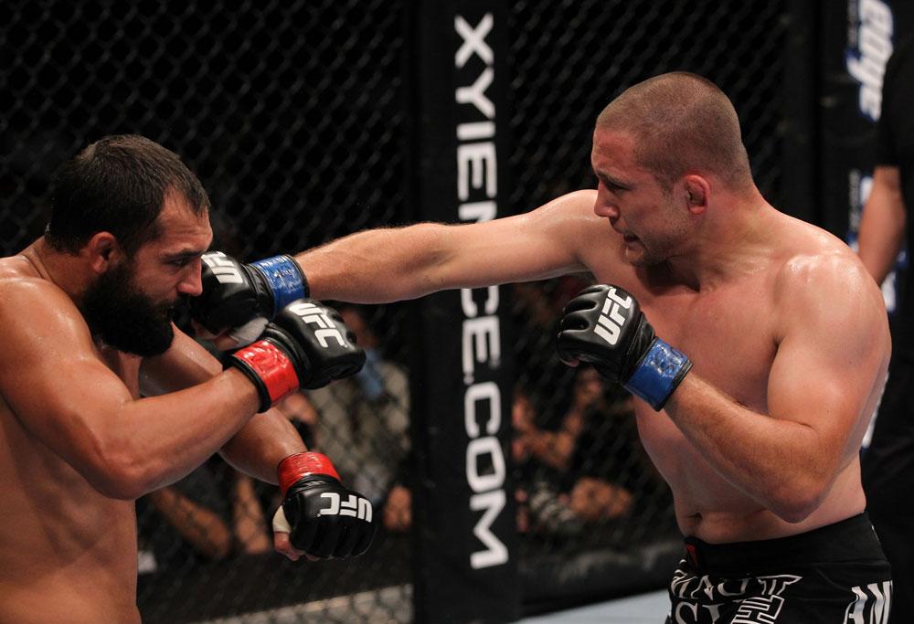 UFC welterweight Mike Pierce