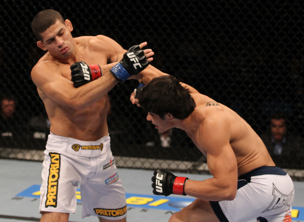 UFC welterweight Erick Silva KOs Luis Ramos