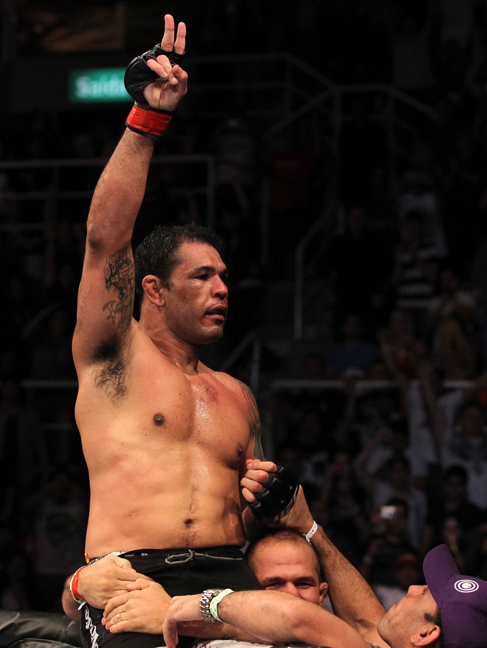 "Heavyweight great ""Minotauro"" Nogueira"
