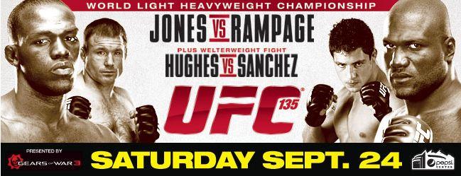 UFC 135 in Denver September 24...