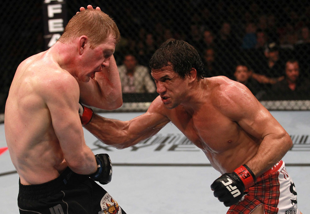UFC middleweight Aaron Simpson
