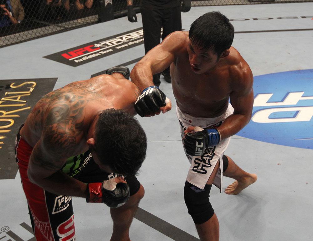 UFC featherweight Nam Phan
