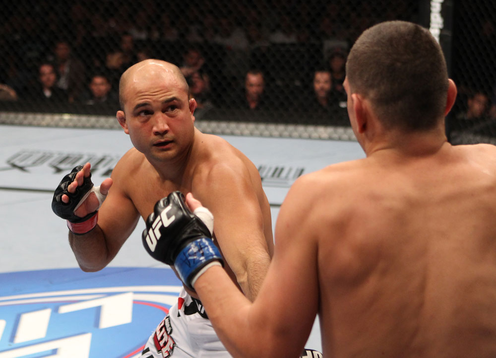Former two division UFC champion BJ Penn