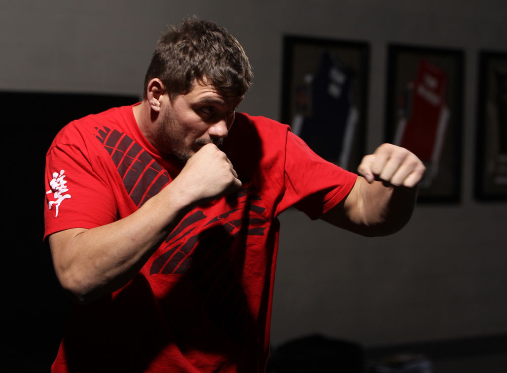 UFC heavyweight Matt Mitrione