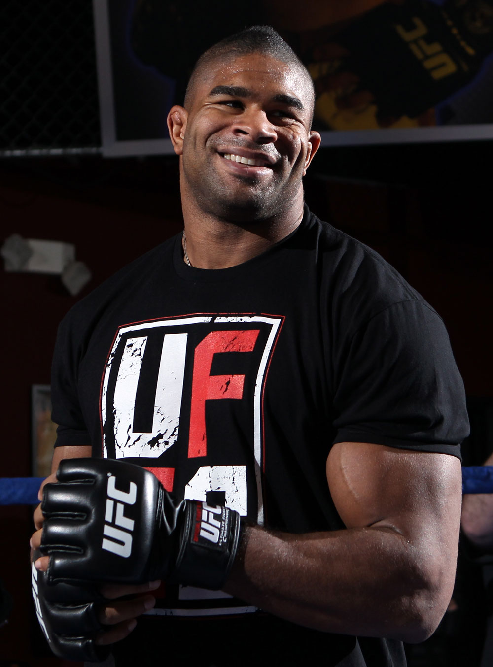 UFC heavyweight contender Alistair Overeem