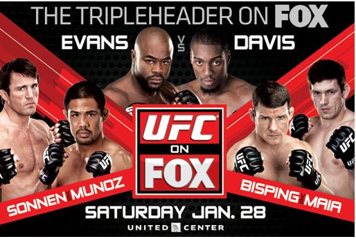 Cartel de UFC on FOX 2