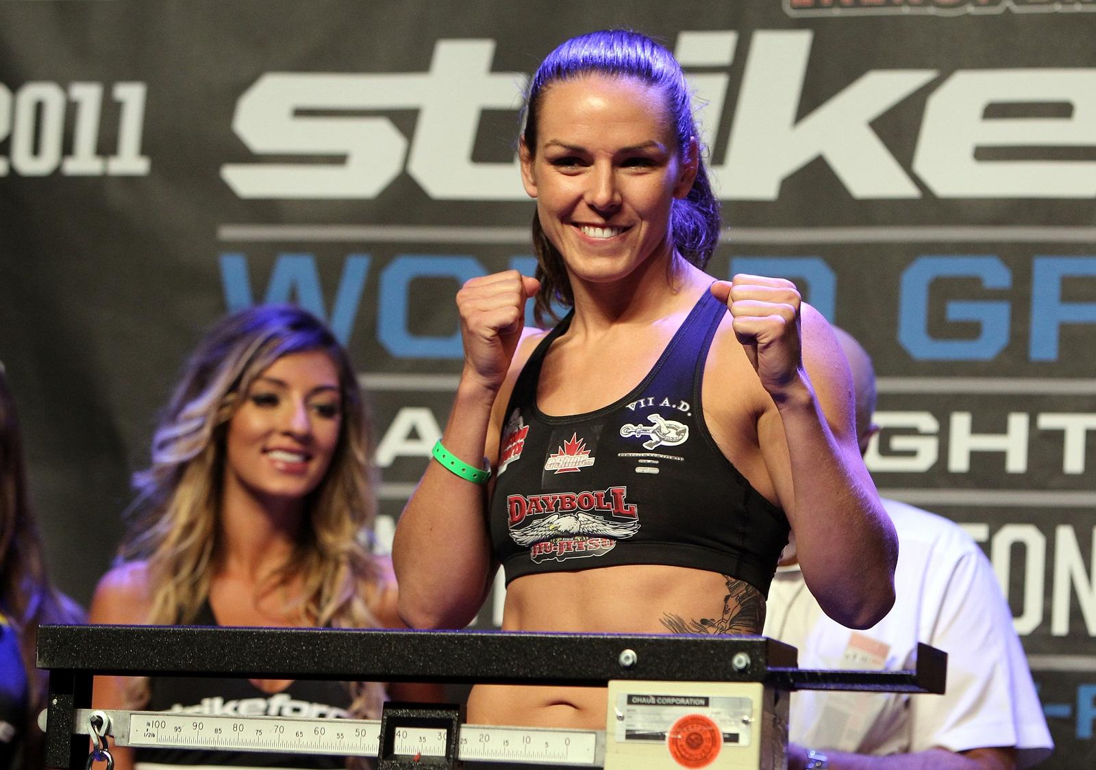 Strikeforce bantamweight Alexis Davis