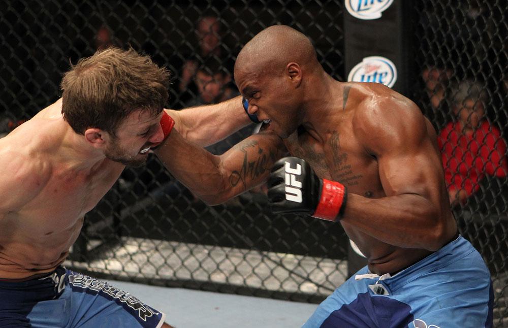 UFC featherweight Marcus Brimage