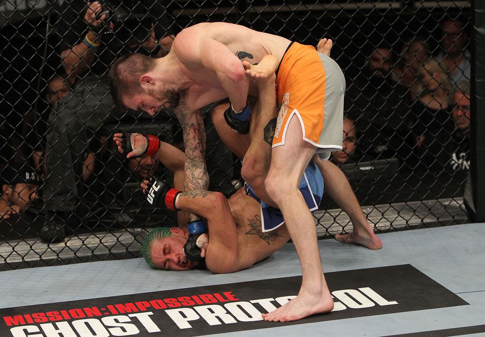 UFC bantamweight Johnny Bedford