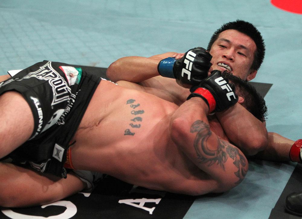 UFC featherweight Chan Sung Jung
