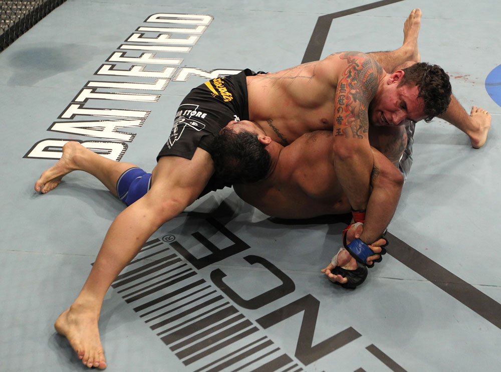 The 2011 Unofficial UFC Sub of the Year - Mir over Nogueira