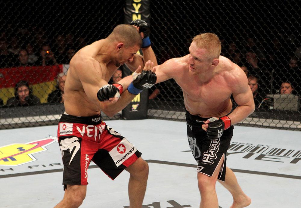 UFC featherweight Dennis Siver