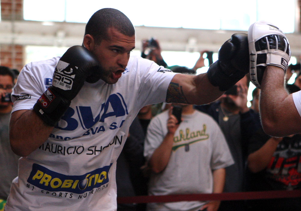 "Former UFC light heavyweight champion ""Shogun"" Rua"