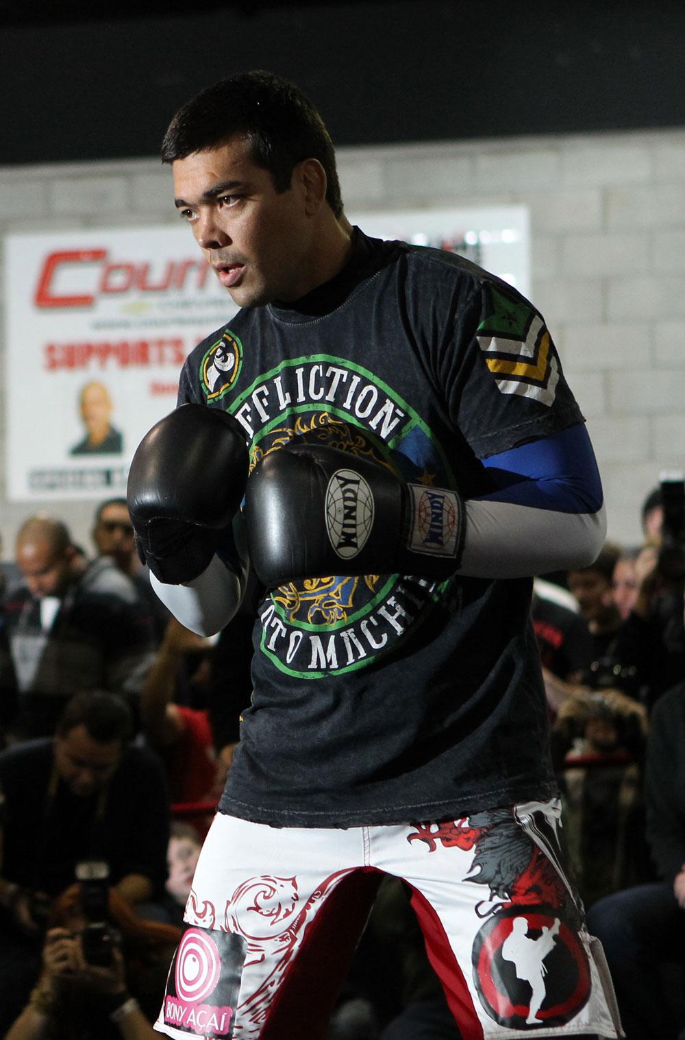 UFC light heavyweight Lyoto Machida