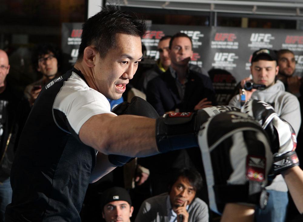 UFC middleweight Yushin Okami