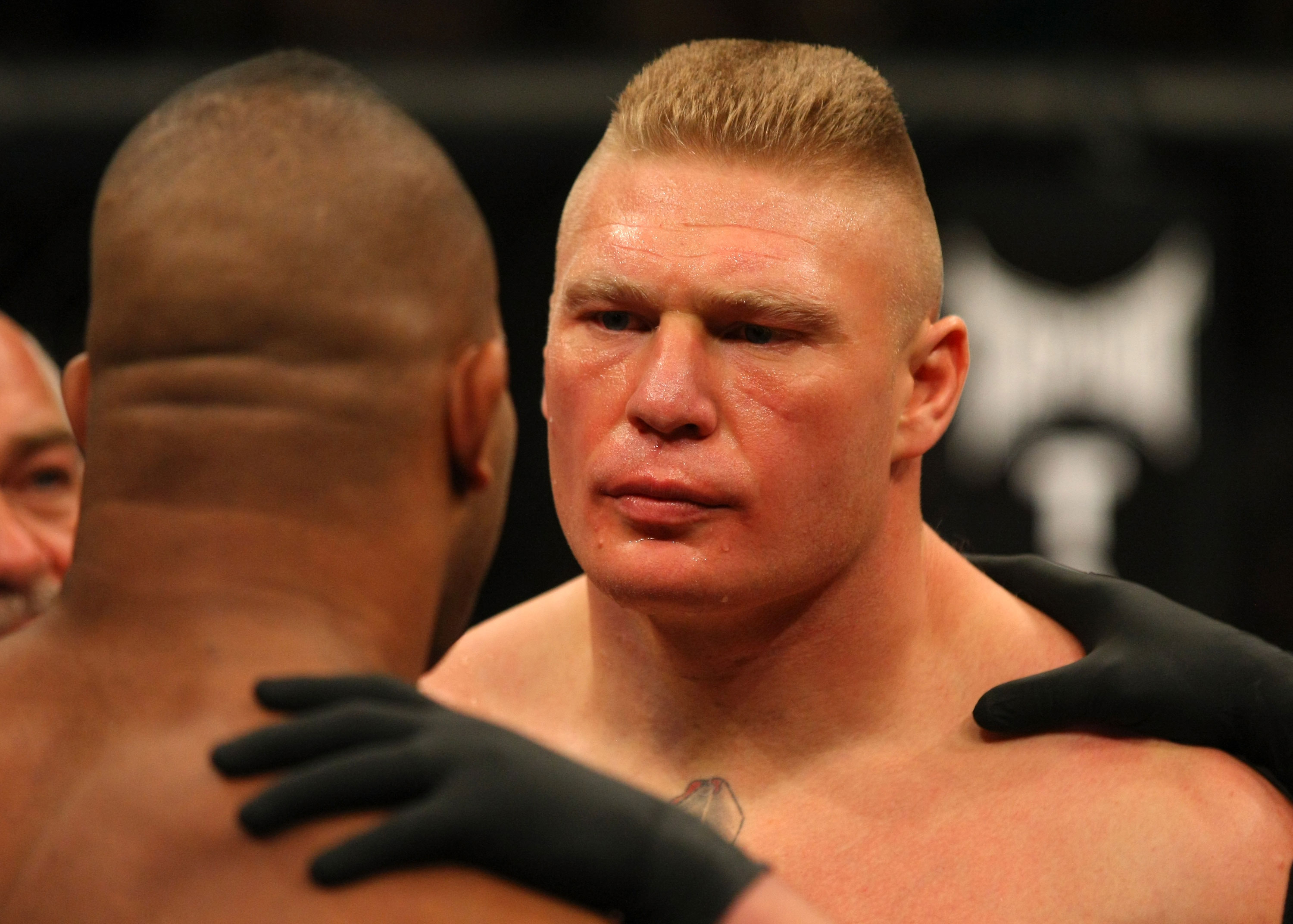Brock Lesnar UFC Comeback Dissed By Heavyweight Star