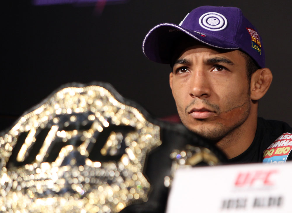 UFC featherweight champion Jose Aldo