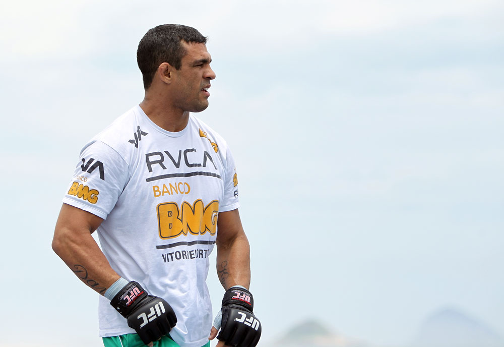 UFC middleweight Vitor Belfort