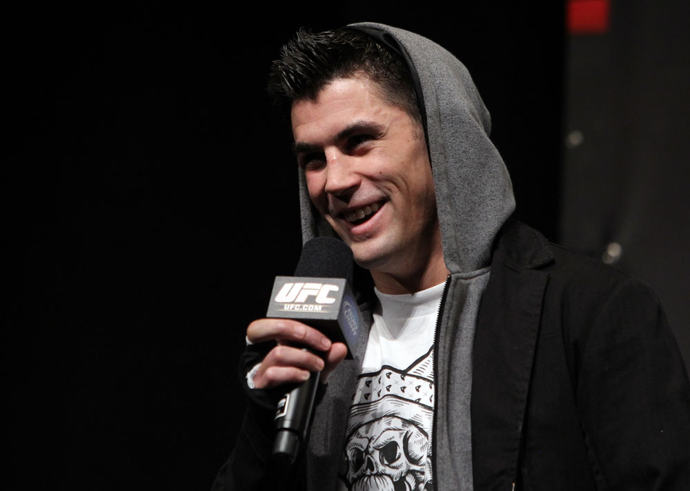 UFC bantamweight champ Dominick Cruz