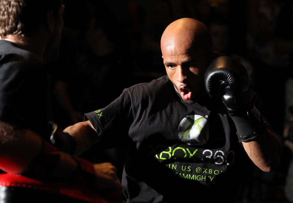 UFC flyweight Demetrious Johnson