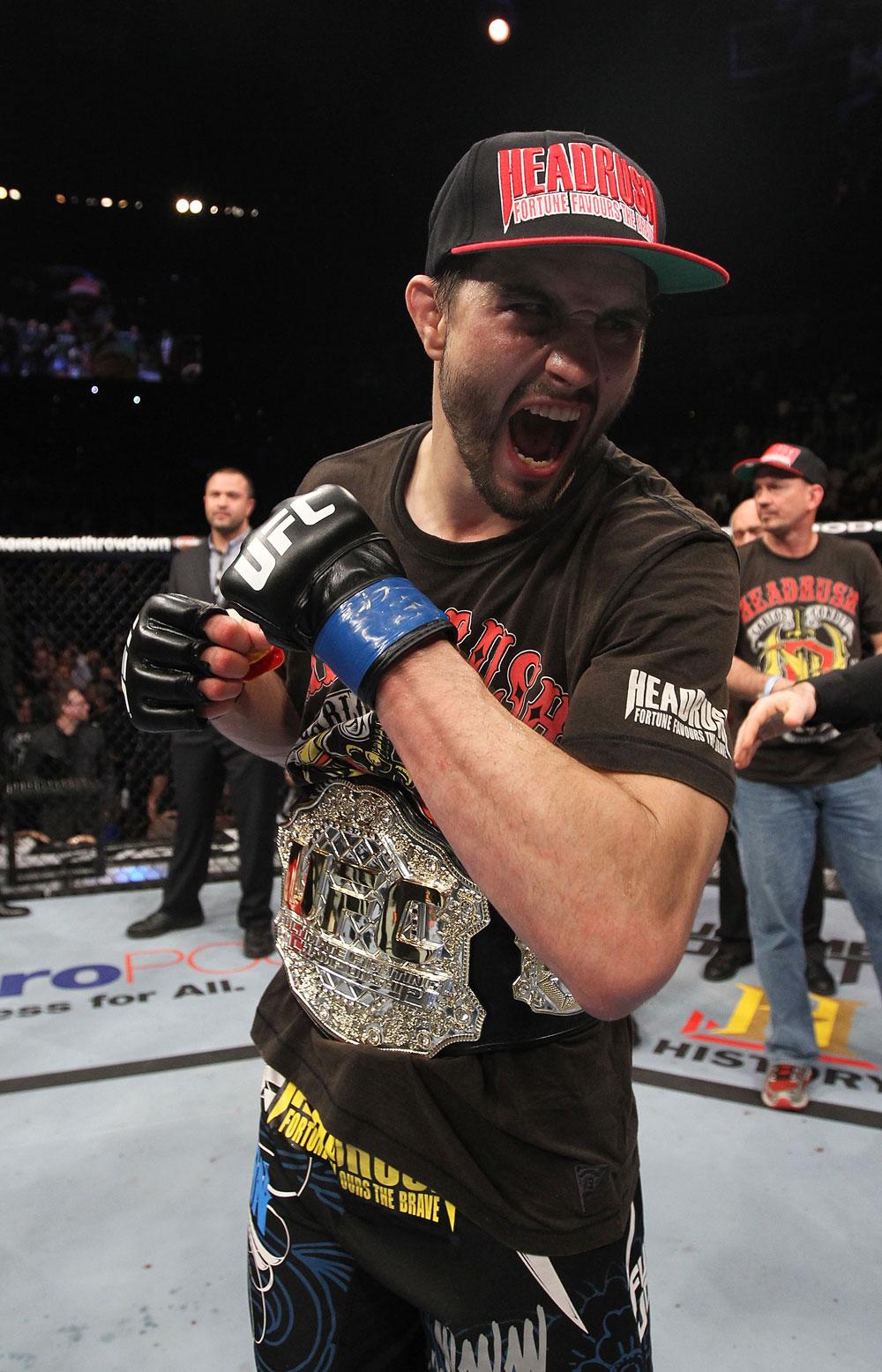 interim UFC welterweight champion Carlos Condit