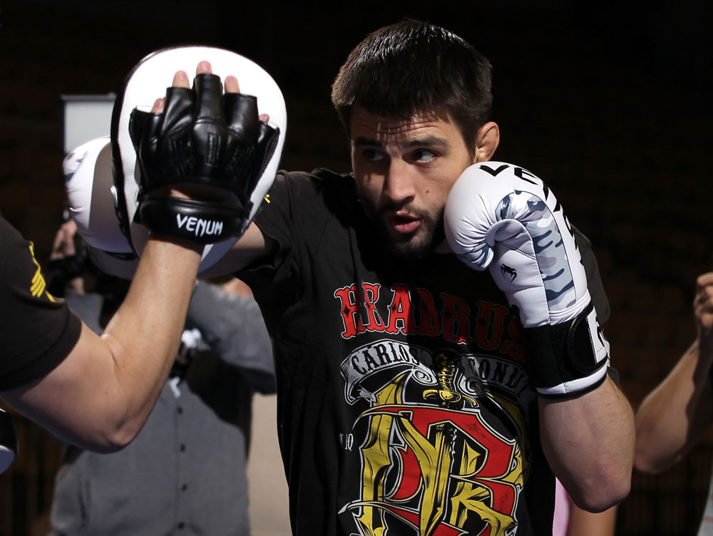 UFC welterweight Carlos Condit